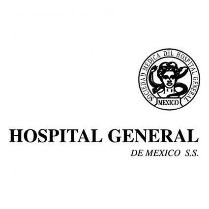 free vector Hospital general de mexico