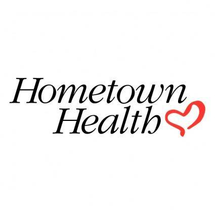 free vector Hometown health