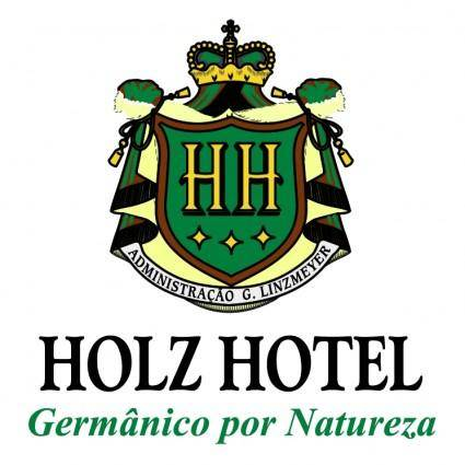 Holz hotel