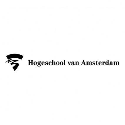 free vector Hogeschool van amsterdam