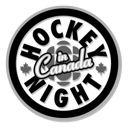 free vector Hockey night in canada