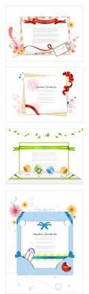 free vector Paper ribbon theme vector
