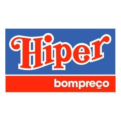 free vector Hiper bompreco