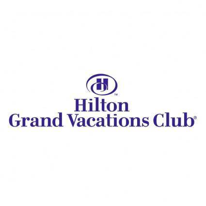 free vector Hilton grand vacations club