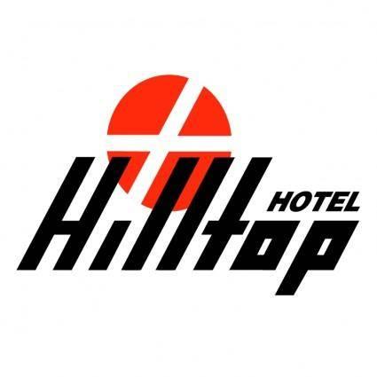 free vector Hilltop hotel
