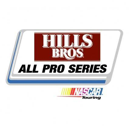 Hills bros all pro series