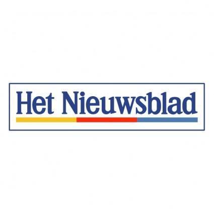 free vector Het nieuwsblad