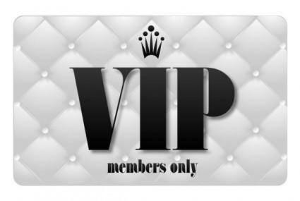 free vector Vip card 02 vector