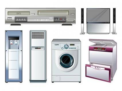 free vector Vector of household appliances