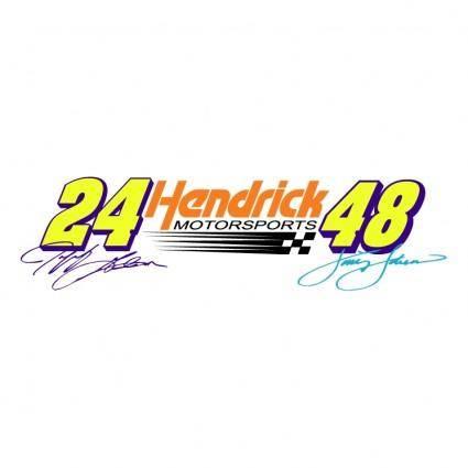 free vector Hendrick motorsports
