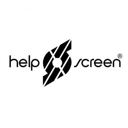 free vector Helpscreen brasil
