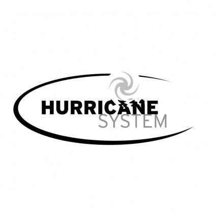 free vector Harricane system