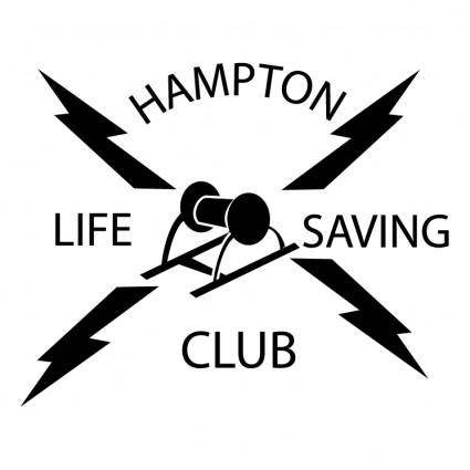 free vector Hampton life saving club