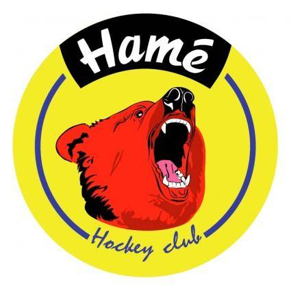 free vector Hame hockey club