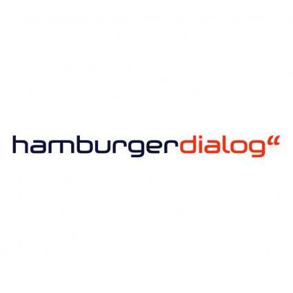 free vector Hamburger dialog