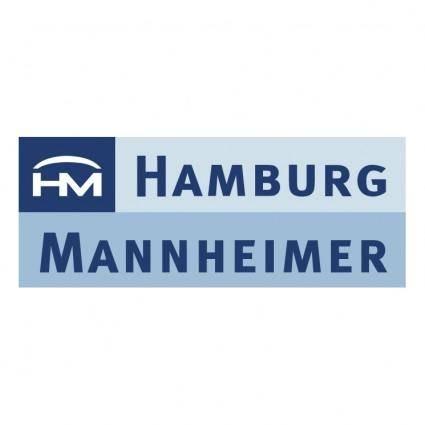 free vector Hamburg mannheimer