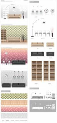 1 vector fashion indoor home