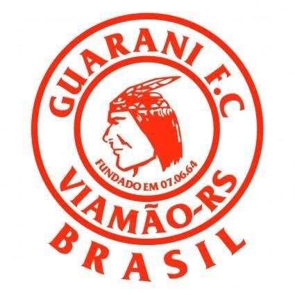 free vector Guarani futebol clube de viamao rs