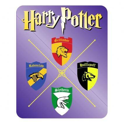 free vector Griffindor ravenclaw slytherin hufflepuff