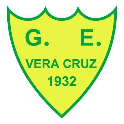 free vector Gremio esportivo vera cruz de sapucaia do sul rs