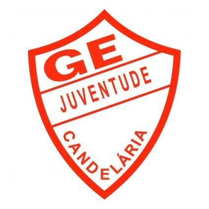 free vector Gremio esportivo juventude de candelaria rs