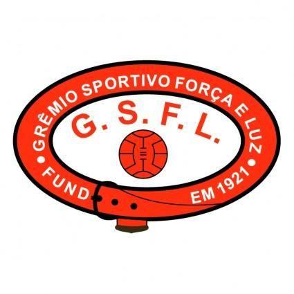 free vector Gremio esportivo forca e luz de porto alegre rs