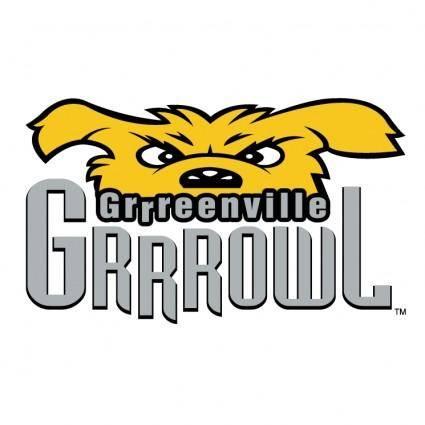 free vector Greenville grrrowl