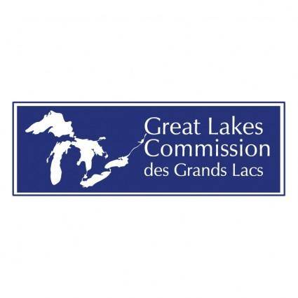 free vector Great lakes commission des grands lacs 0