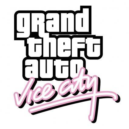 free vector Grand theft auto vice city