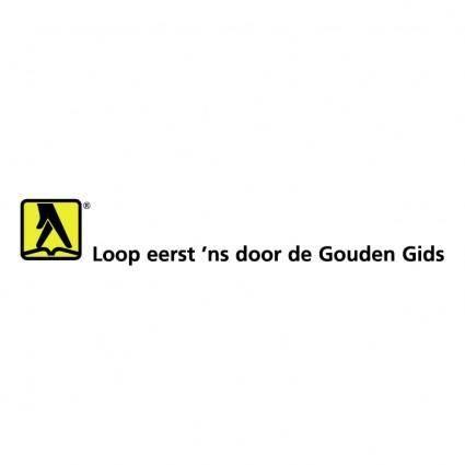 free vector Gouden gids