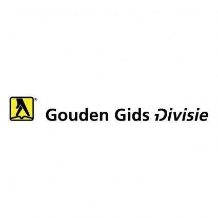 free vector Gouden gids divisie
