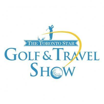 free vector Golf travel show
