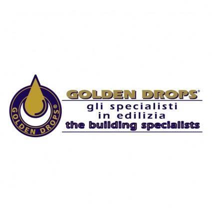free vector Golden drops