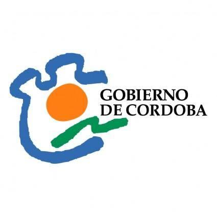 free vector Gobierno de cordoba