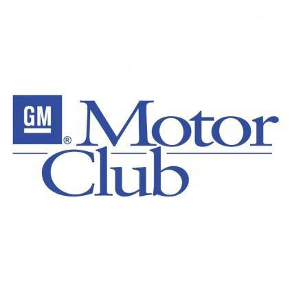 free vector Gm motor club