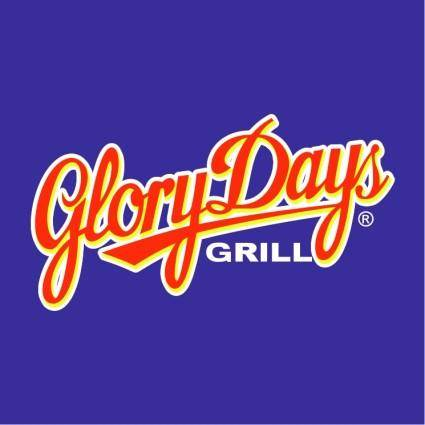 free vector Glory days grill