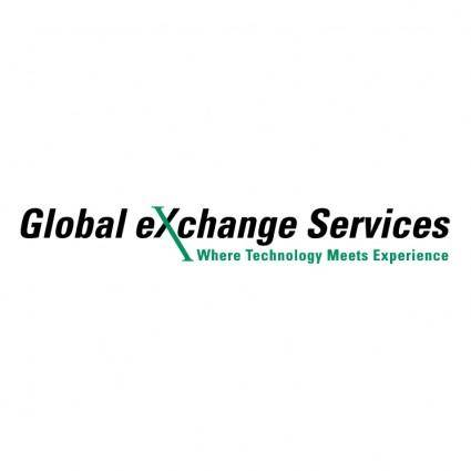 free vector Global exchange services