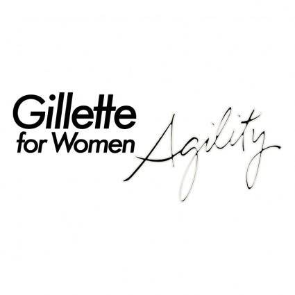 free vector Gillette for women agility