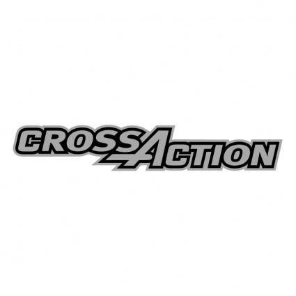 free vector Gillette crossaction