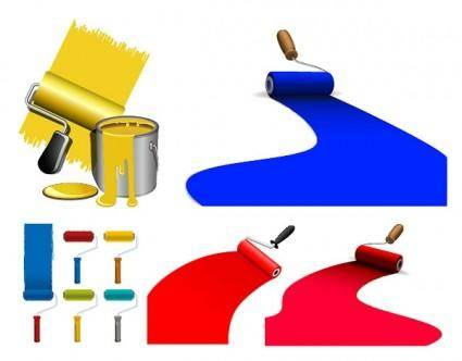 free vector Vector paint