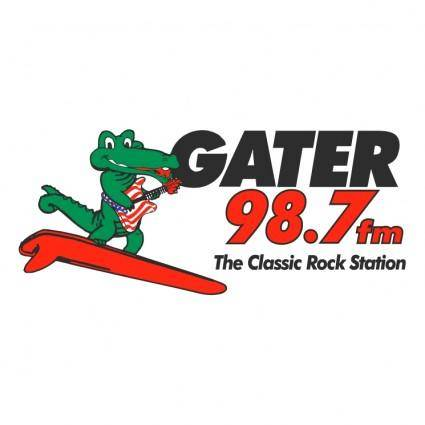 free vector Gater 987 fm