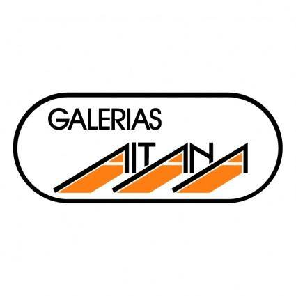 free vector Galerias aitana