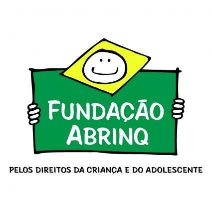 free vector Fundacao abrinq