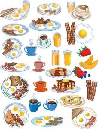free vector Breakfast