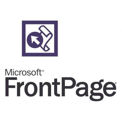 free vector Frontpage