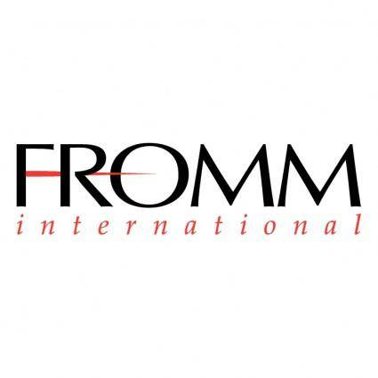 Fromm international
