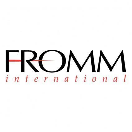 free vector Fromm international