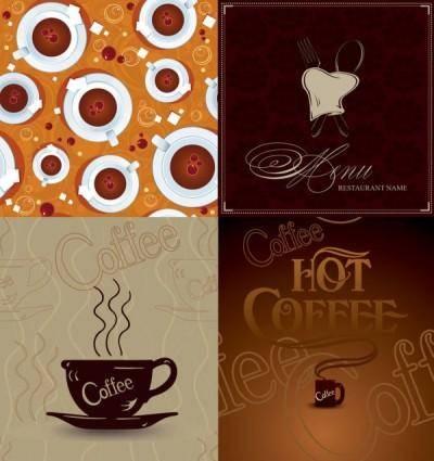 free vector Coffee poster vector