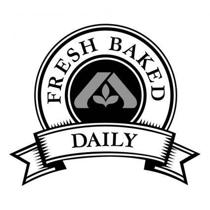 free vector Fresh baked daily