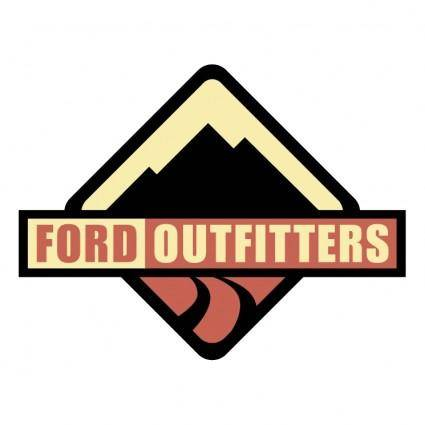 free vector Ford outfitters